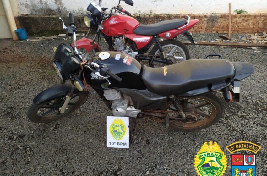 PM apreende duas motocicletas com condutores sem CNH em Kaloré