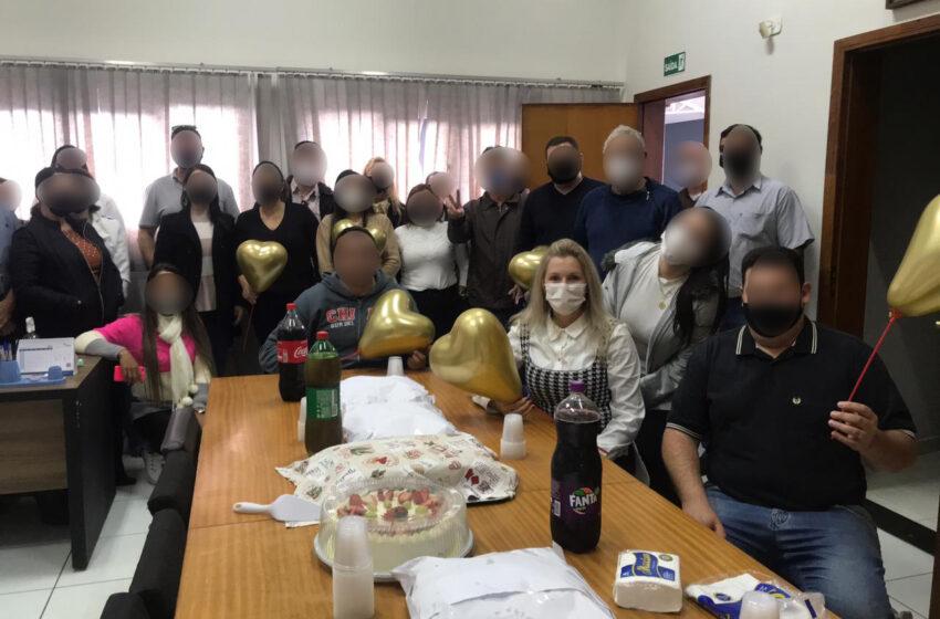 Imagens de festa de aniversário dentro da Câmara de Ivaiporã gerou polêmica durante a semana; Nota de esclarecimento