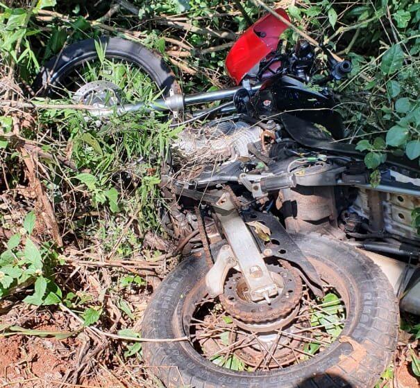 PM recupera moto furtada em Kaloré