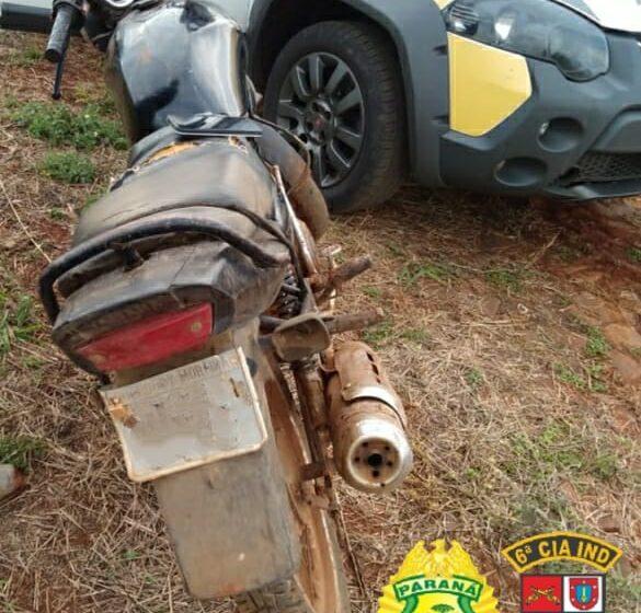 Homem é preso acusado de receptação de motocicleta, em Arapuã