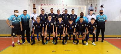 Equipe Sub-20 de São João do Ivaí estreou no Campeonato Paranaense de Futsal