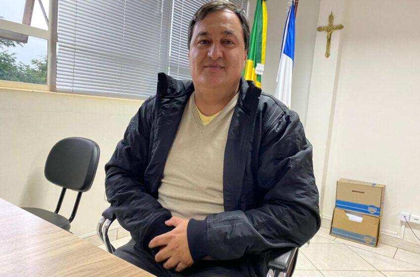 """Vídeo: """"Vamos continuar no cargo, trabalhando pelo progresso de Mauá da Serra"""" diz Hermes Wicthoff"""