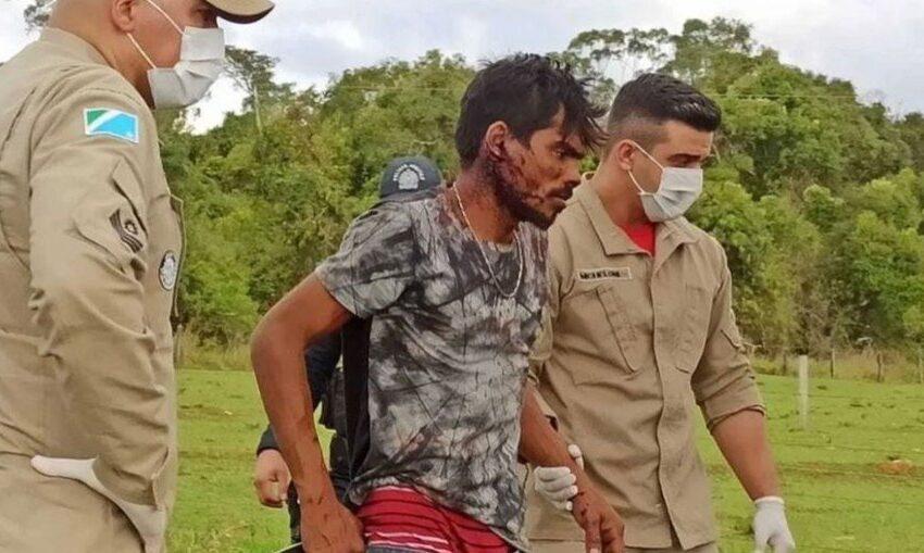 Homem é espancado após ser confundido com Lázaro Barbosa em Campo Grande-MS