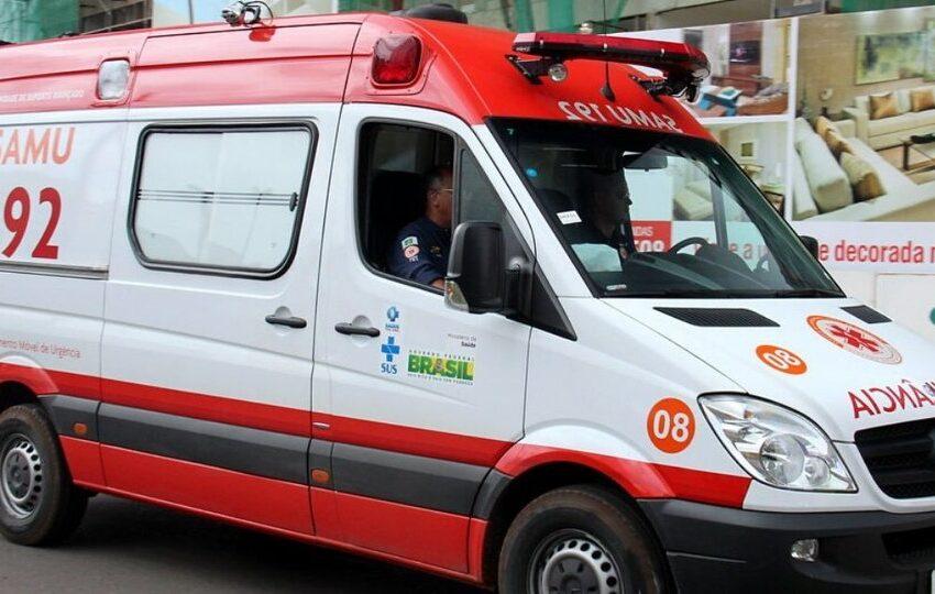 Adolescente dá à luz dentro de ambulância do Samu em São João do Ivaí