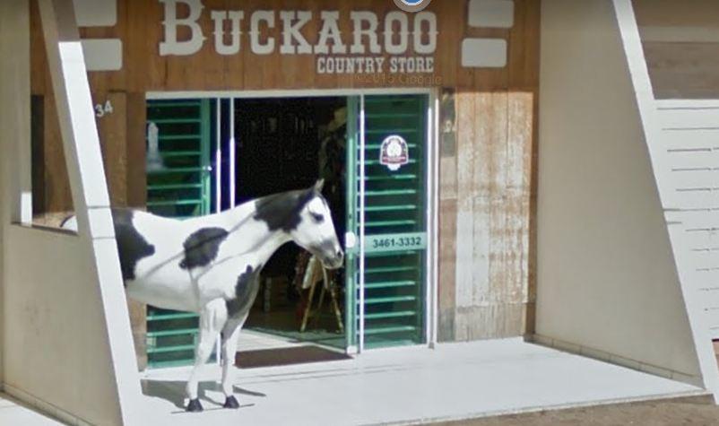 Loja Buckaroo de Faxinal foi alvo de bandidos; Funcionária foi trancada no banheiro