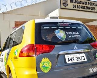 PM registra ameaça na rua Carmo Coleta, em Borrazópolis