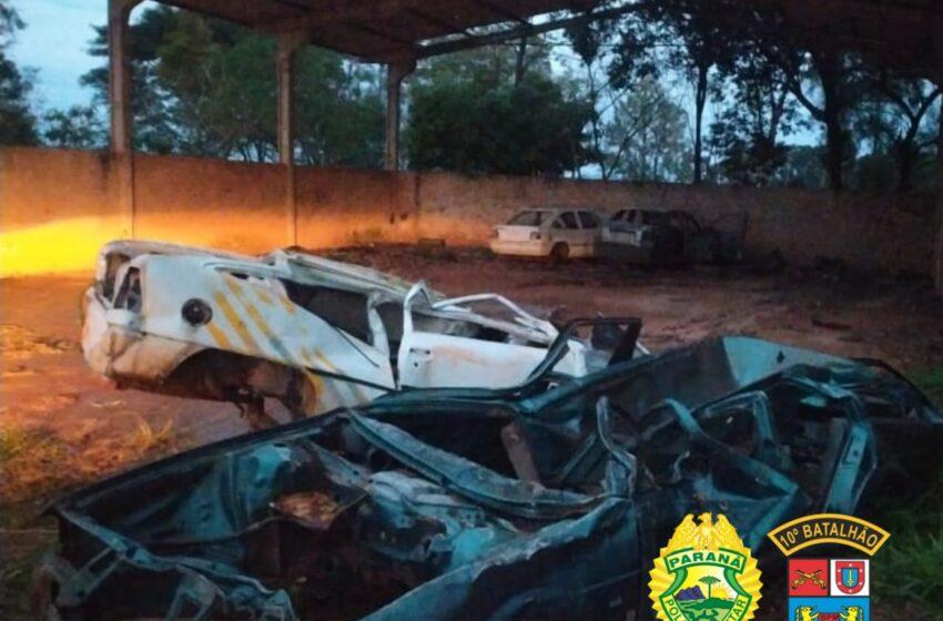 Cambira: Furto de carcaça de veículos leva PM a encontrar grande quantidade de materiais de procedência duvidosa