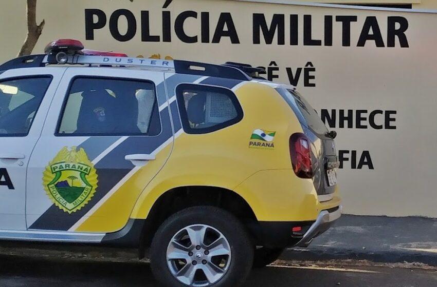 Homem é preso acusado de agressão e posse irregular de arma e fogo, em Ariranha do Ivaí