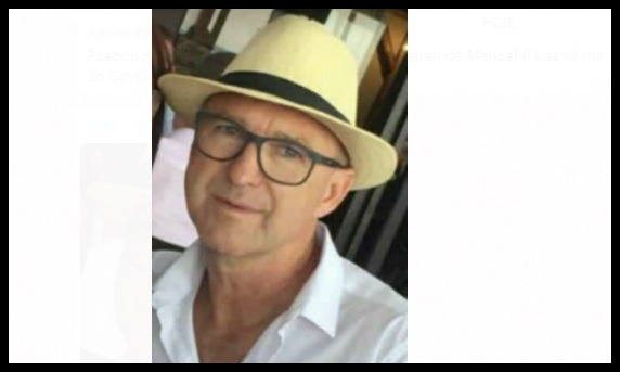 Comoção com a morte do chefe do Detran de Manoel Ribas, vitima de Covid-19
