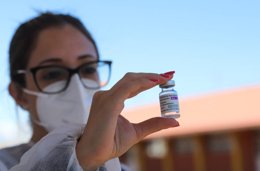 Novo lote com 360 mil doses de AstraZeneca chega nesta quarta-feira ao Paraná