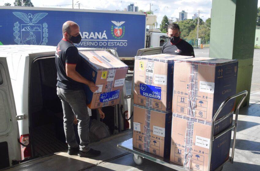 Mais 37,4 mil doses da vacina contra Covid-19 da Pfizer chegam ao Paraná