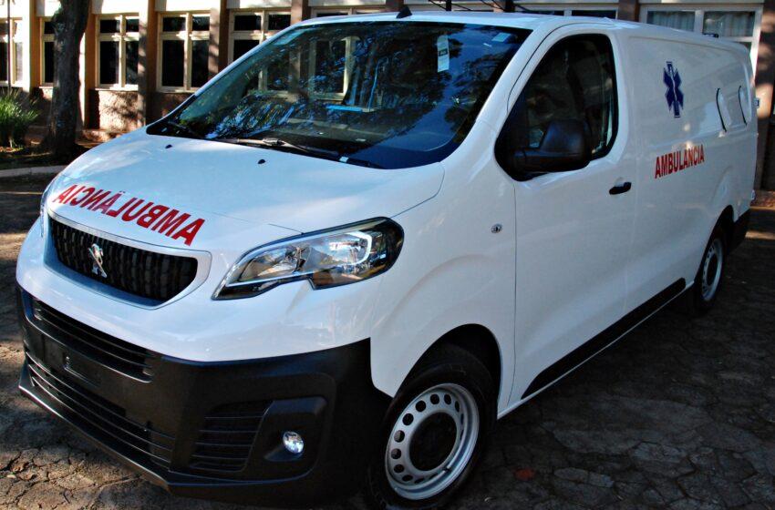 Faxinal recebe veículo para a Saúde