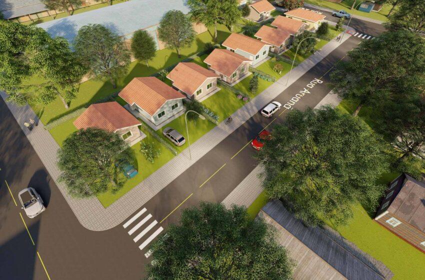 VALE DO IVAÍ – Governo autoriza a construção de 65 casas em Califórnia