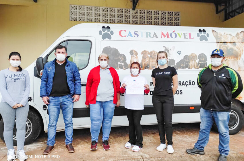 Castramóvel da AMUVI realiza 126 cirurgias gratuitas em Lunardelli
