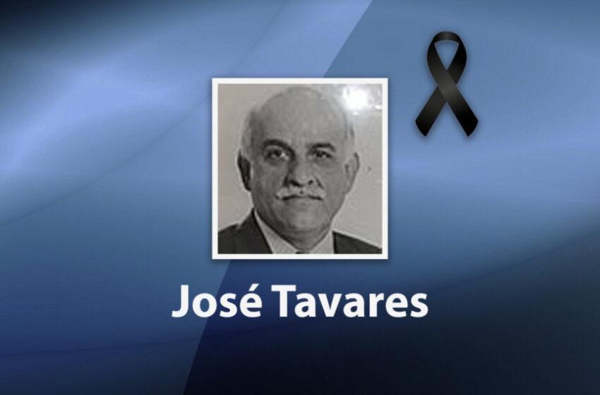 Deputados lamentam a morte do ex-deputado e ex-secretário de Estado, José Tavares