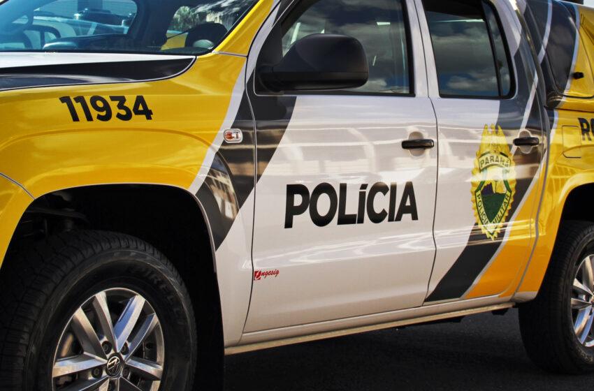 Filho é detido após manter a mãe sob ameaça com uma faca, em Ivaiporã