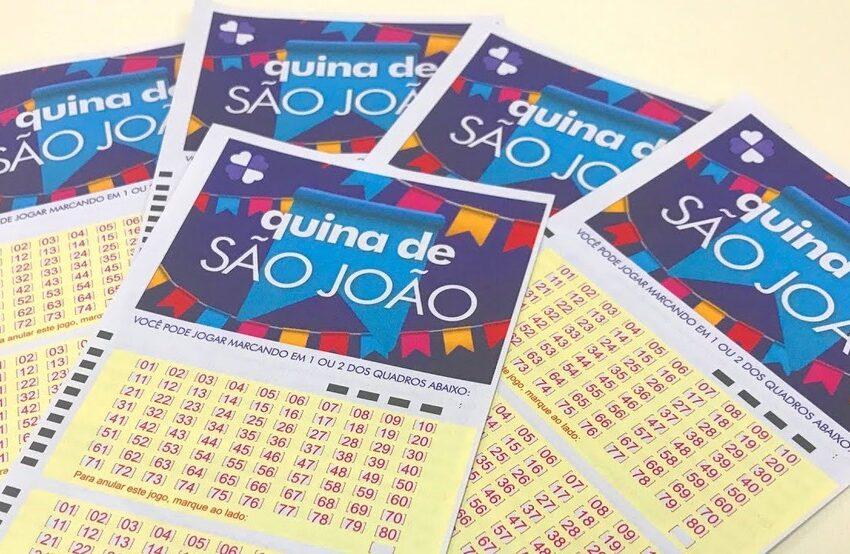 Quina de São João: Apostas do concurso 5590, sai para a região