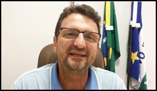 """Vídeo: """"Vou lutar pelo povo até o último dia do meu mandato"""" diz Moacir Andreola"""