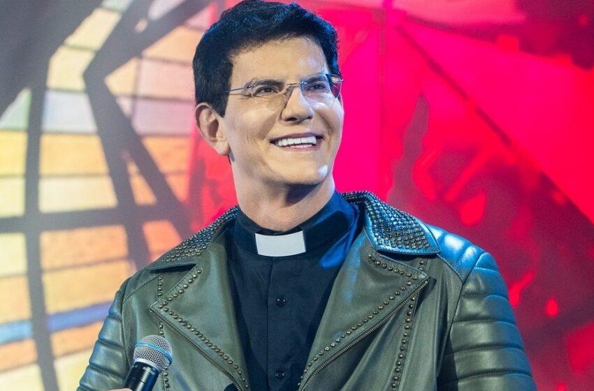 Padre Reginaldo Manzotti em Borrazópolis no dia 04 de setembro