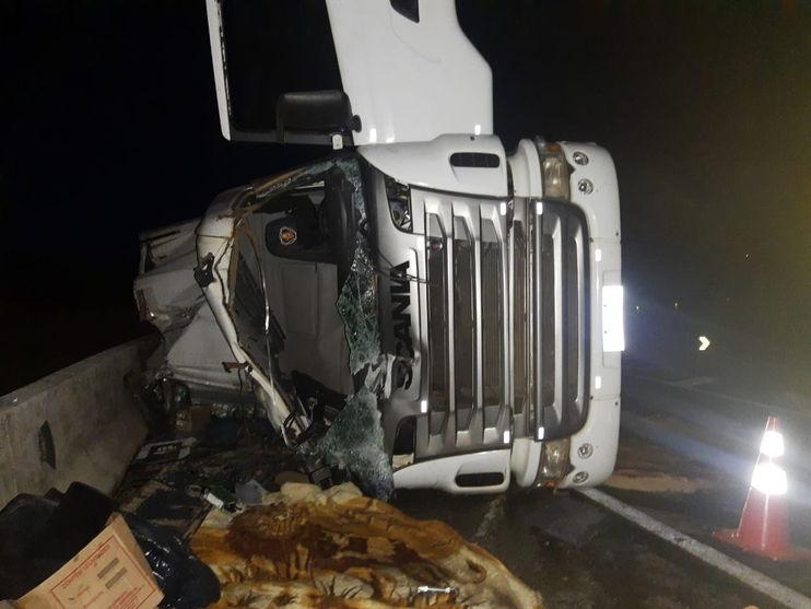 Acidente é registrado entre Mauá da Serra e Ortigueira; uma pessoa morreu no local