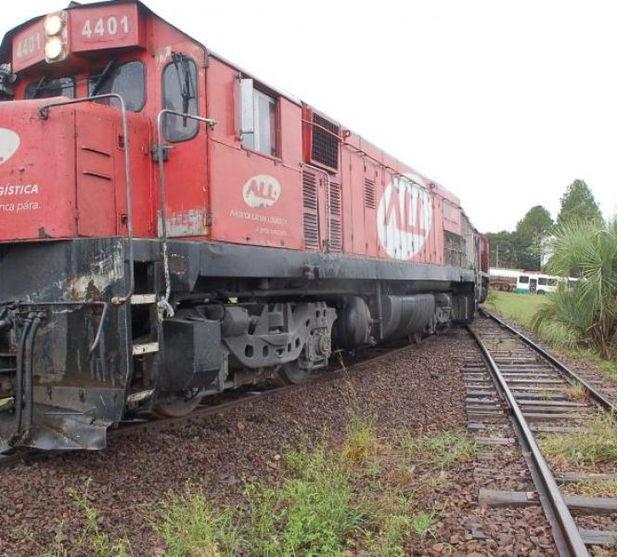 Deficiente auditivo fica ferido após ser atingido por trem em Marilândia do Sul