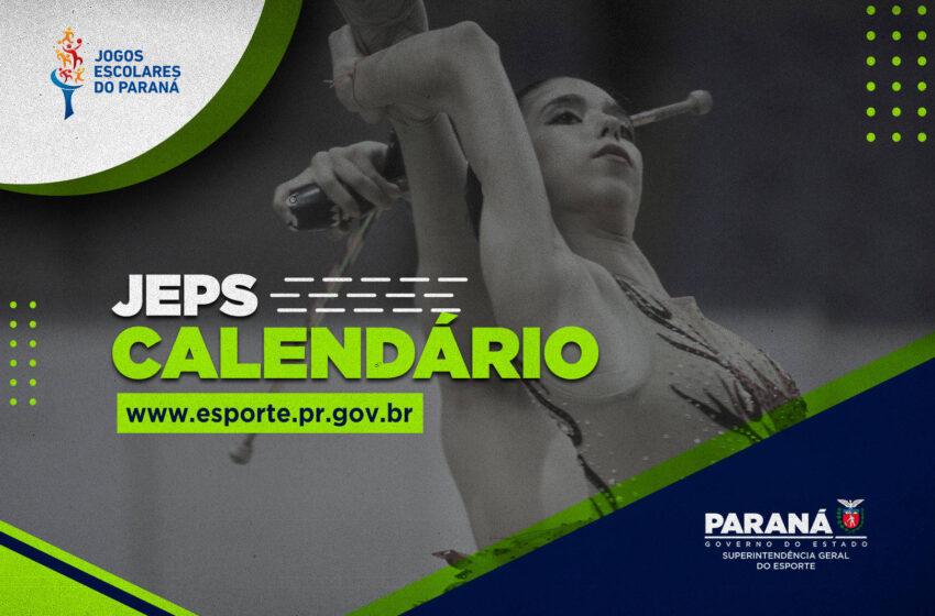 Governo divulga calendário dos Jogos Escolares do Paraná com competições em julho e agosto