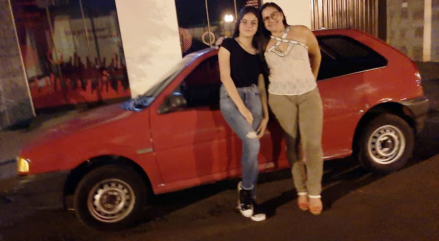 """Vereadora """"Tuca"""" registra o furto de seu carro em Borrazópolis"""