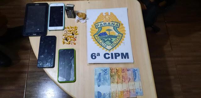ROTAM prende suspeito de tráfico em Ivaiporã