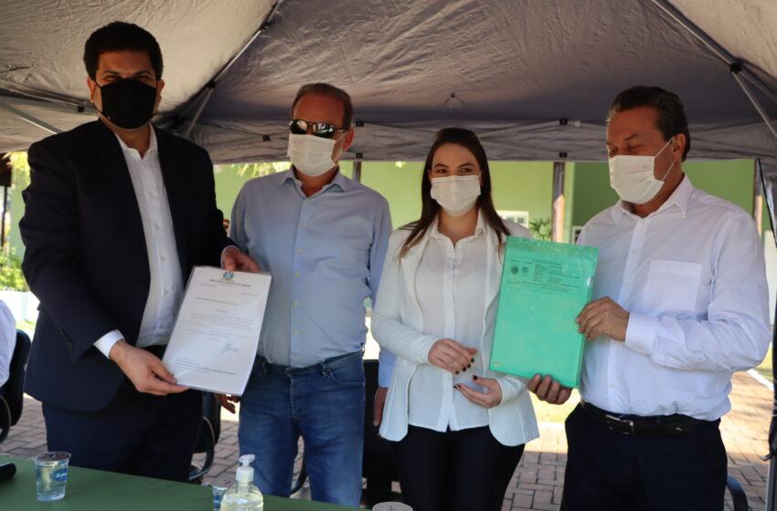 André França e Márcio Nunes cumprem agenda no Departamento de Meio Ambiente de Ivaiporã