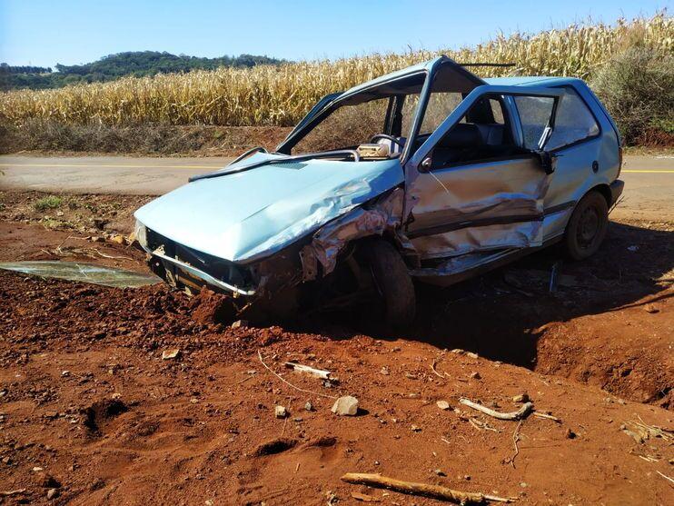 Após acidente, vítima tenta agredir motorista em Apucarana