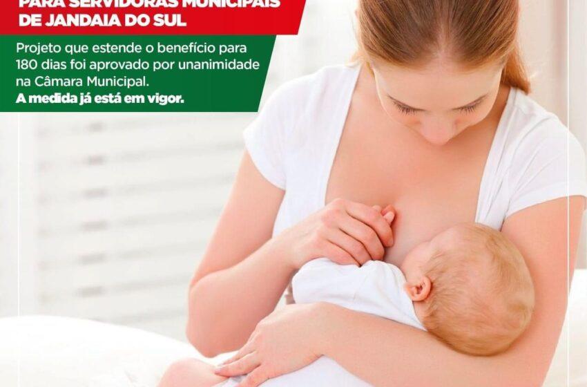 JANDAIA DO SUL- Licença-maternidade de seis meses é aprovada para servidoras