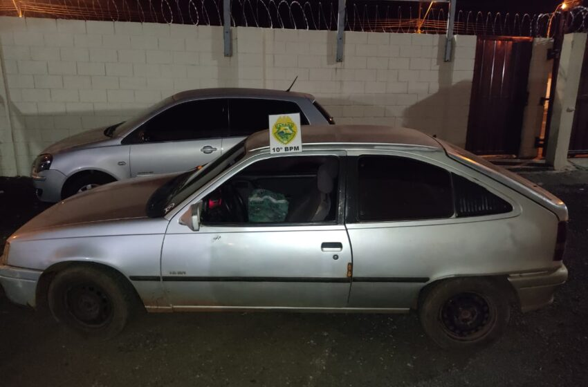 PM flagra condutor sem habilitação em Mauá da Serra