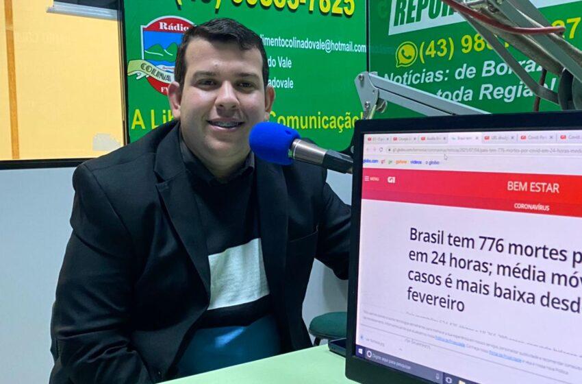 """Com união e esforço vamos transformar Ariranha com grandes ações"""" diz vereador Marcelo"""