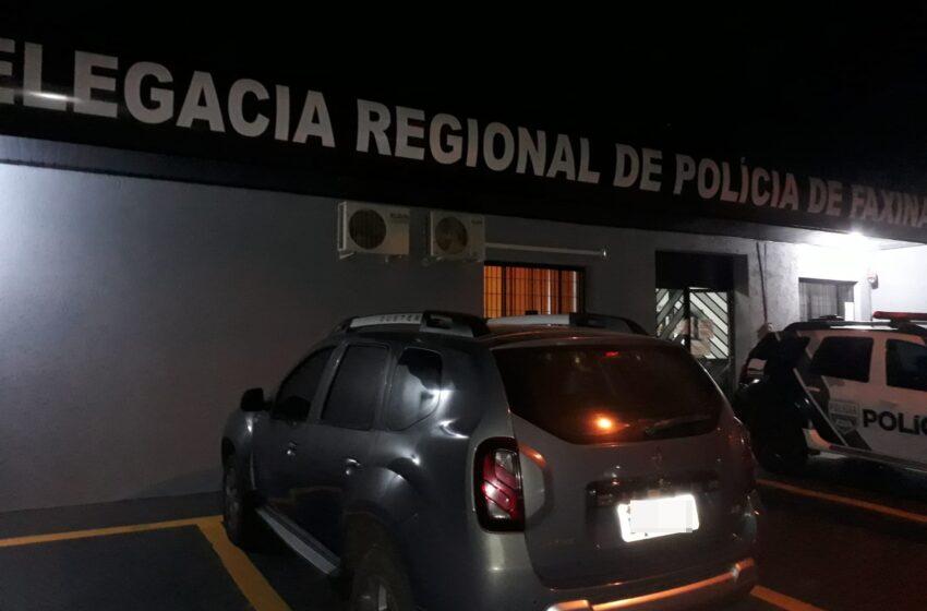 Homem acusado de agredir a ex é detido pala Policia Civil em Cruzmaltina