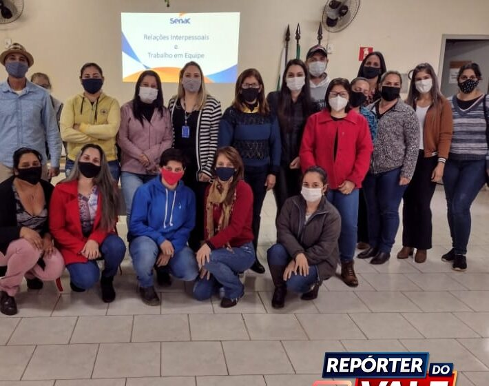 Novo Itacolomi realiza curso de relacionamento interpessoal no ambiente de trabalho