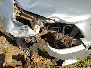 Jovens sofrem acidente com moto próximo a São João do Ivaí
