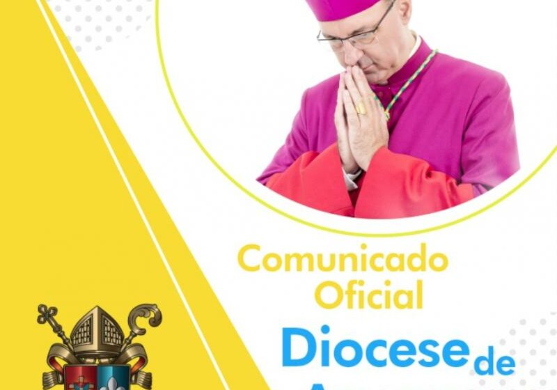 Diocese de Apucarana divulga a alteração nas funções do clero