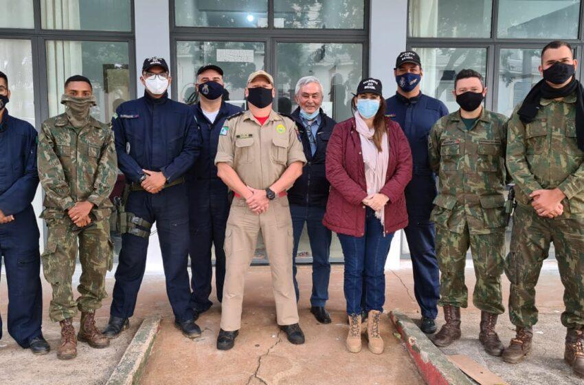 Bombeiros e Marinha enaltecem apoio da prefeitura de São João do Ivaí nas buscas no Rio Ivaí