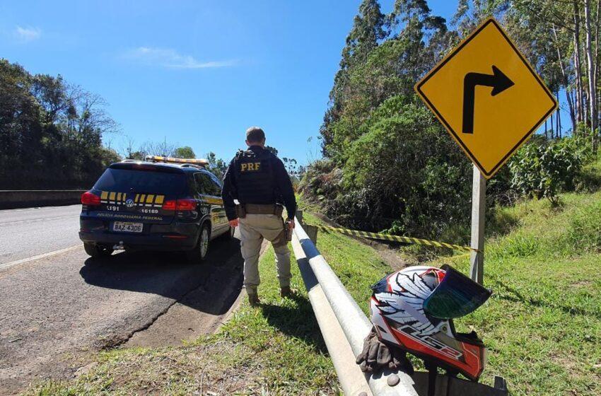 Jovem de 32 anos morre após acidente com moto na serra do cadeado em Mauá da Serra