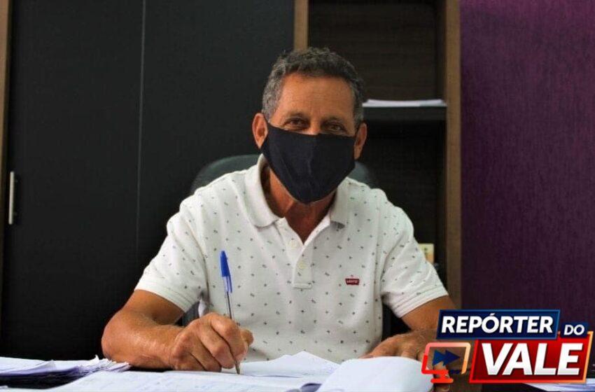 Prefeito Ary Matos de Ortigueira concede entrevista ao Repórter do Vale