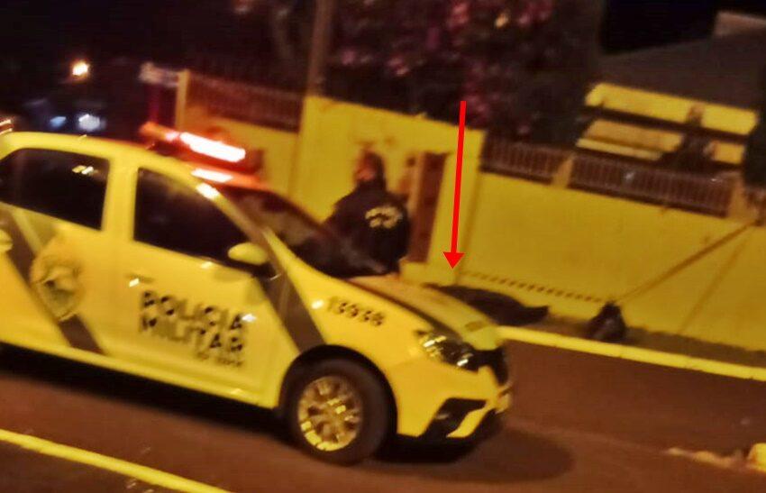 Homem é morto após ser atingido por uma pedrada, em Manoel Ribas