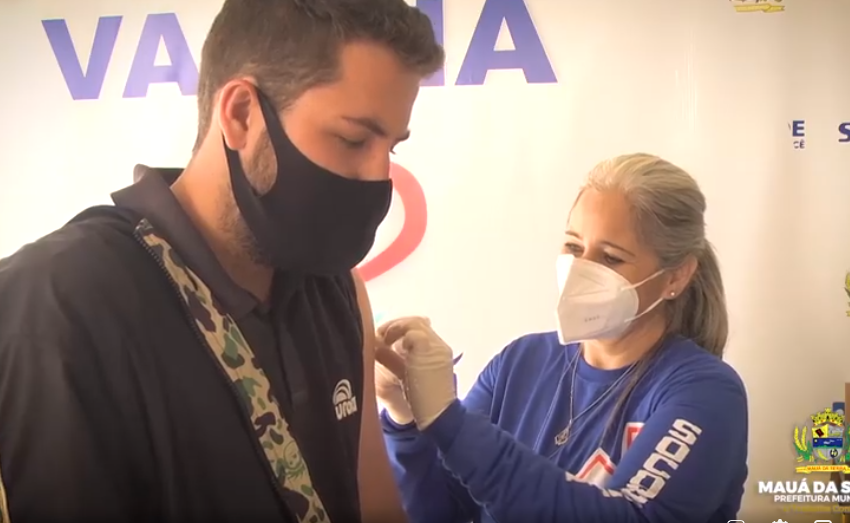 MAUÁ DA SERRA – Segue avançando contra a Covid vacinando aa população de 35 anos sem comorbidades