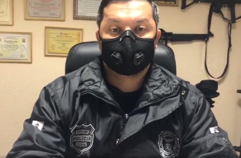 VÍDEO – Em entrevista o Dr. Ricardo Mendes de Faxinal, fala das ações da Policia Civil na região