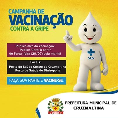 Campanha de Vacinação contra a Gripe -H1N1 de Cruzmaltina