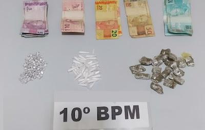 Mulher acusada de tráfico de drogas é presa em Mauá da Serra