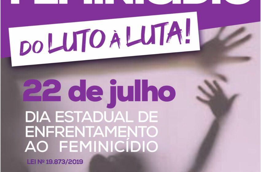 Secretaria da Mulher lança campanha virtual no Dia Estadual de Combate ao Feminicídio em Apucarana