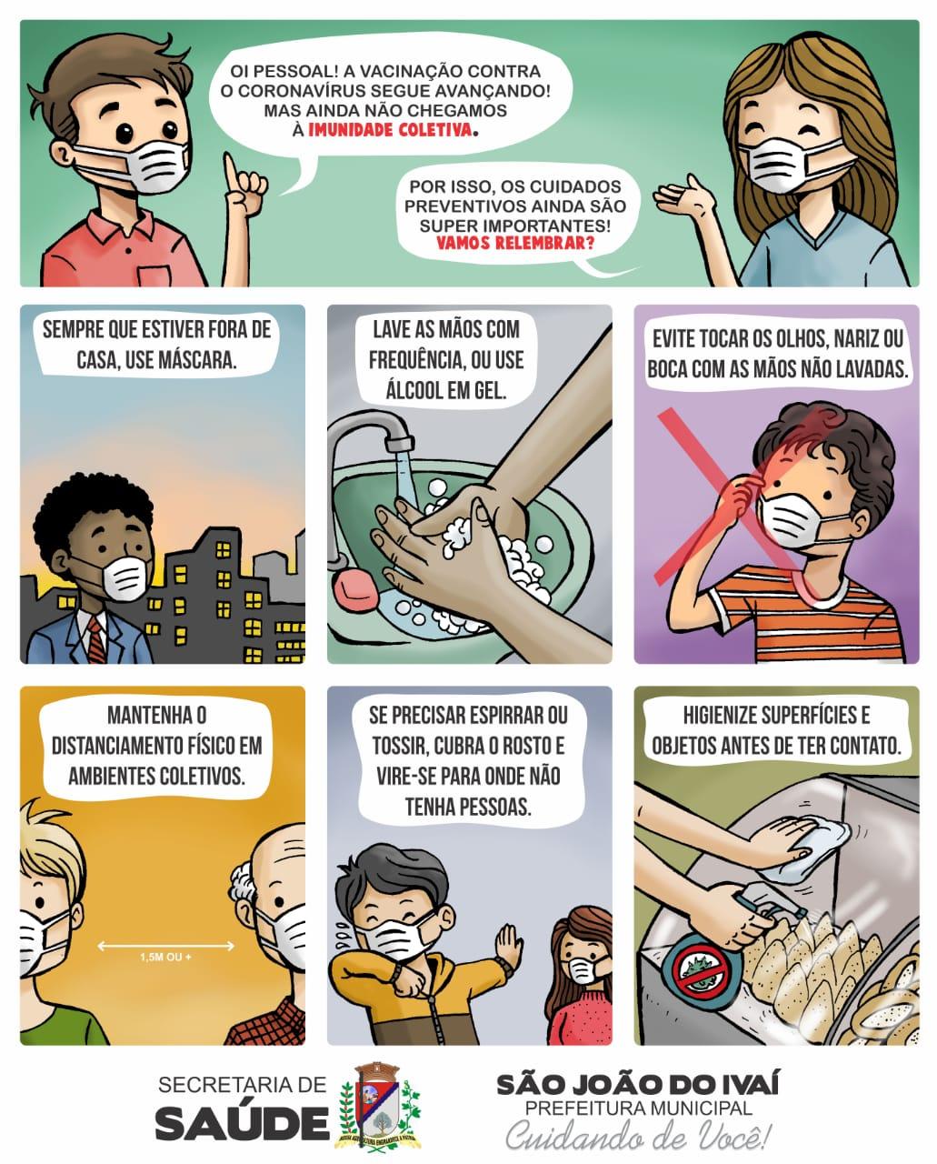 SÃO JOÃO DO IVAÍ - Combate ao Coronavirus