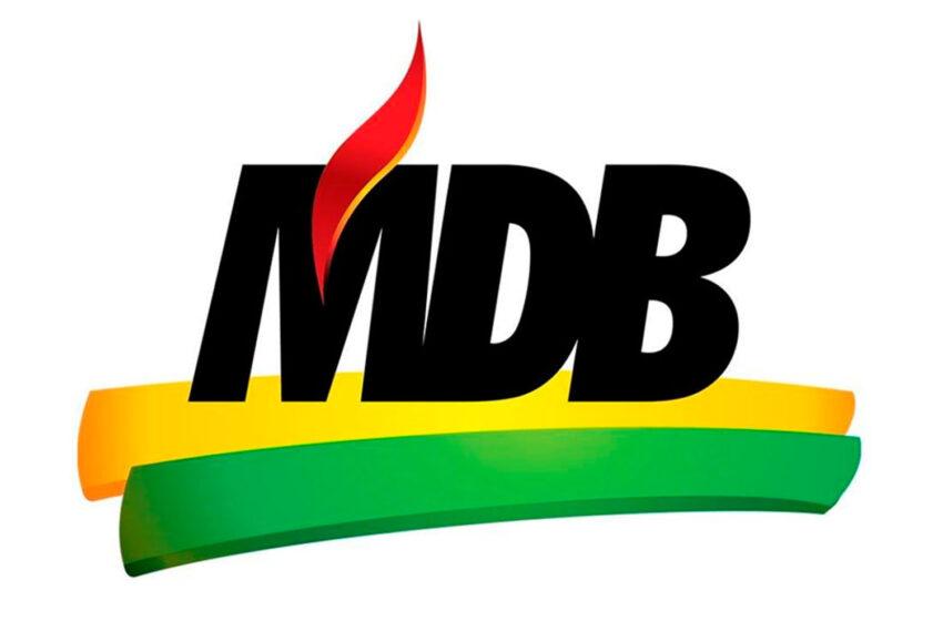 MDB de Faxinal convoca para convenção