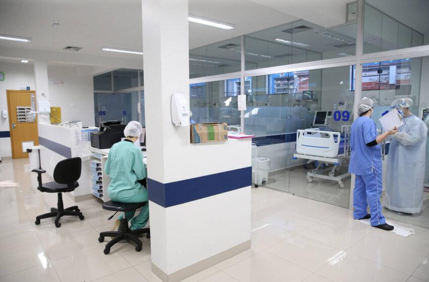 Pela 1ª vez em quatro meses, ocupação de leitos de UTI Covid-19 fica abaixo de 90% no Paraná