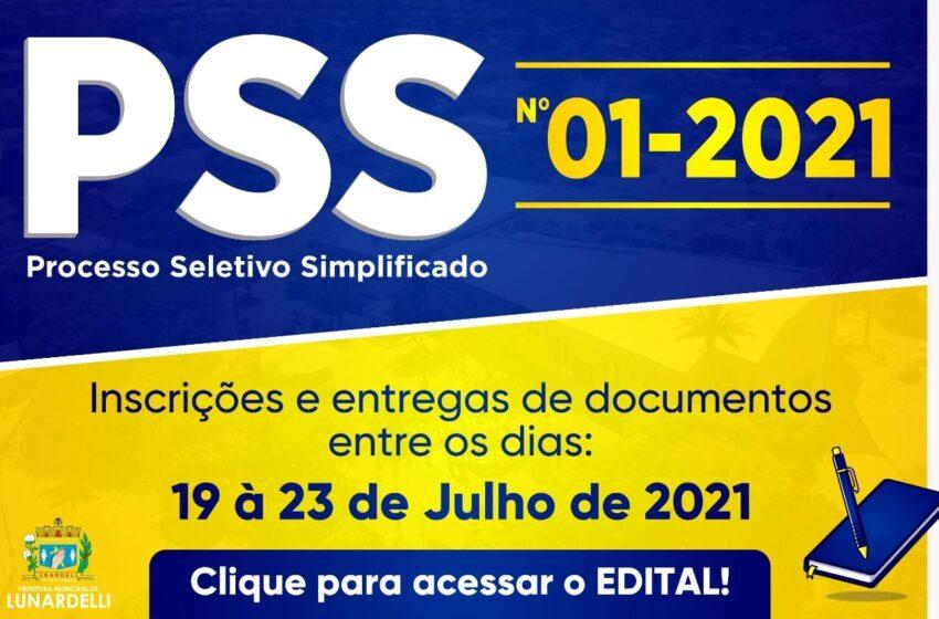 Prefeitura de Lunardelli abre inscrições para PSS